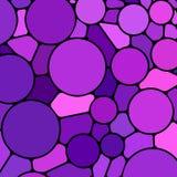 Abstrakcjonistyczny wektorowy witraż mozaiki tło Obraz Royalty Free