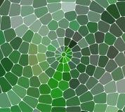 Abstrakcjonistyczny wektorowy witraż mozaiki tło Obrazy Royalty Free