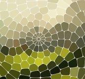 Abstrakcjonistyczny wektorowy witraż mozaiki tło Fotografia Stock