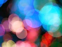 Abstrakcjonistyczny światło plamy mrugania tło Obrazy Royalty Free