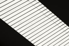 Abstrakcjonistyczny widok dachowy okno z żaluzją Fotografia Stock