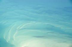 abstrakcjonistyczny widok na ocean obraz stock