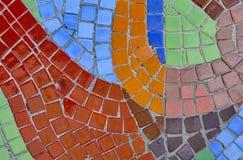 Abstrakcjonistyczny wielo- kolor mozaiki bacground Obraz Royalty Free