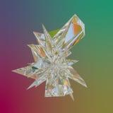 abstrakcjonistyczny wielobok Fotografia Royalty Free