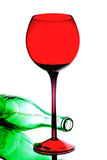 Abstrakcjonistyczny wina tła projekt Zdjęcie Royalty Free