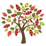 abstrakcjonistyczny wiosna czas drzewo royalty ilustracja
