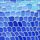 Abstrakcjonistyczny witraż mozaiki tło Fotografia Stock