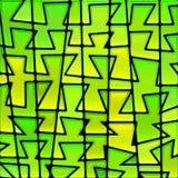Abstrakcjonistyczny witraż mozaiki tło Zdjęcia Stock