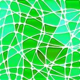 Abstrakcjonistyczny witraż mozaiki tło Obrazy Royalty Free