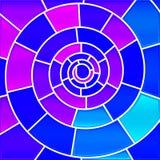 Abstrakcjonistyczny witraż mozaiki tło Zdjęcie Royalty Free