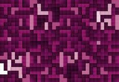 Abstrakcjonistyczny wizerunek bloku tło w purpurach tonować royalty ilustracja