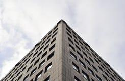 Abstrakcjonistyczny wizerunek handlowy budynek Zdjęcia Stock