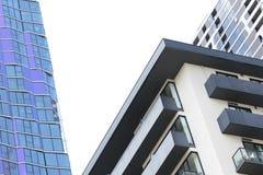 Abstrakcjonistyczny wizerunek nowożytna architektura Obrazy Stock
