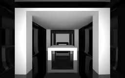 Abstrakcjonistyczny wnętrze Zdjęcia Royalty Free