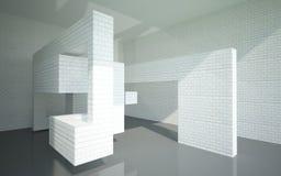 Abstrakcjonistyczny wnętrze Zdjęcie Stock