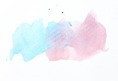 Abstrakcjonistyczny wodny kolor Zdjęcie Royalty Free