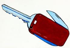 Abstrakcjonistyczny wojsko nóż Zdjęcie Royalty Free