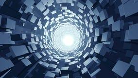 Abstrakcjonistyczny wormhole sprawnie 4K ilustracji