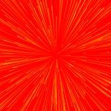 Abstrakcjonistyczny wybuch, wybuch, promienie, promienie, błysk, błyskotliwość, fajerwerk royalty ilustracja