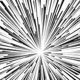 Abstrakcjonistyczny wybuch, wybuch, promienie, promienie, błysk, błyskotliwość, fajerwerk ilustracji