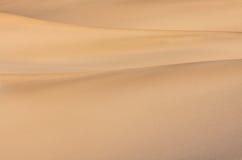 abstrakcjonistyczny wydmowy piasek Fotografia Royalty Free