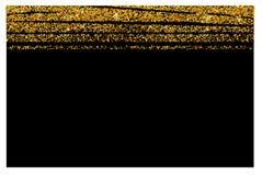 Abstrakcjonistyczny złocisty błyskotliwości tło Błyszczący błyska dla karty ilustracja wektor