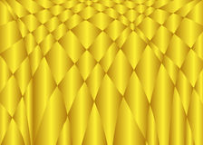 Abstrakcjonistyczny złocisty koloru falowego wektoru tło Zdjęcia Stock
