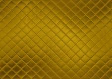 Abstrakcjonistyczny złoto płytki tło Zdjęcia Stock