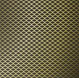 Abstrakcjonistyczny złoto wzoru tło Zdjęcia Royalty Free