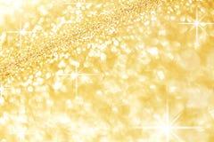 Abstrakcjonistyczny złoty tło Zdjęcia Royalty Free