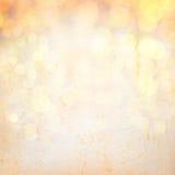 Abstrakcjonistyczny złoty tło. Obrazy Royalty Free