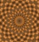 abstrakcjonistyczny złoto Obraz Stock