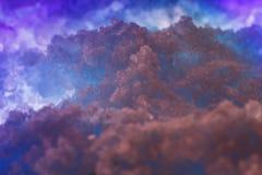 Abstrakcjonistyczny zasolony astronautyczny tło Obraz Royalty Free