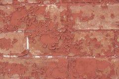Abstrakcjonistyczny zbliżenie Stary Textured ściana z cegieł fotografia stock