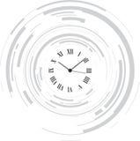 abstrakcjonistyczny zegar ilustracji
