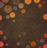 abstrakcjonistyczny zegar Obrazy Stock
