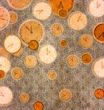 abstrakcjonistyczny zegar Zdjęcia Stock