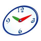 abstrakcjonistyczny zegarowy kolor Obrazy Royalty Free