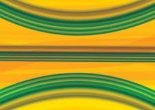 Abstrakcjonistyczny zielonej fala tło i abstrakcjonistyczny akrylowy obraz Gredient rozmyty tło ilustracja wektor