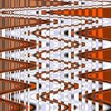 Abstrakcjonistyczny zigzad linii wzór w nord stylu Obrazy Royalty Free