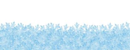 Abstrakcjonistyczny zimy panoramy tło z Białym Froz i tłem Obrazy Royalty Free