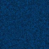 Abstrakcjonistycznych cyfrowych błękitnych piksli bezszwowy wzór Obraz Royalty Free