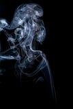 abstrakcjonistycznych czerni tła kształtów dymu bardzo delikatne Zdjęcia Royalty Free