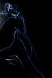 abstrakcjonistycznych czerni tła kształtów dymu bardzo delikatne Obraz Royalty Free