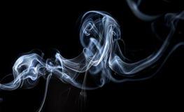 abstrakcjonistycznych czerni tła kształtów dymu bardzo delikatne Zdjęcie Stock