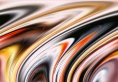 Abstrakcjonistycznych czerwonych purpur menchii linii i kolorów phosphorescent tło ustawia ruch Zdjęcia Royalty Free