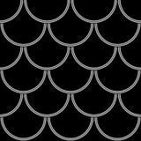Abstrakcjonistycznych geometrycznych okregów bezszwowy wzór Zdjęcie Stock