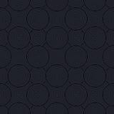 Abstrakcjonistycznych geometrycznych okregów bezszwowy wzór Fotografia Stock