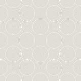 Abstrakcjonistycznych geometrycznych okregów bezszwowy wzór Obrazy Stock