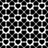Abstrakcjonistycznych geometrycznych serc bezszwowy wzór Zdjęcia Stock